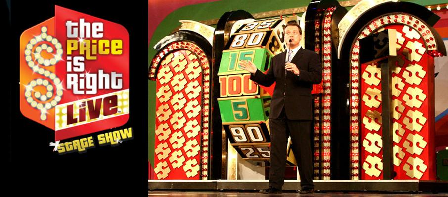 The Price Is Right - Live Stage Show at Harry and Jeanette Weinberg Theatre