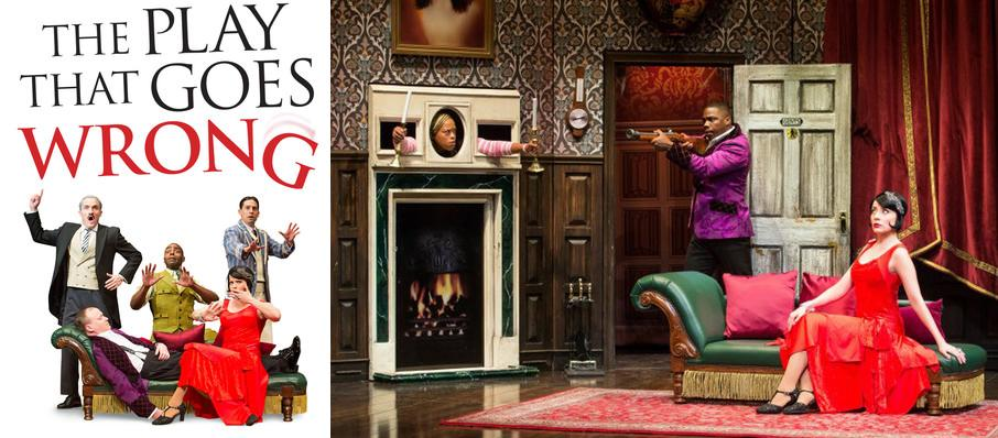 The Play That Goes Wrong at Harry and Jeanette Weinberg Theatre