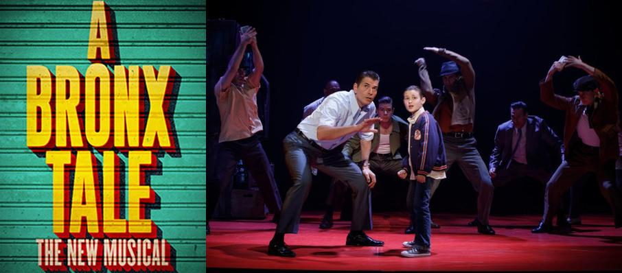 A Bronx Tale at Harry and Jeanette Weinberg Theatre