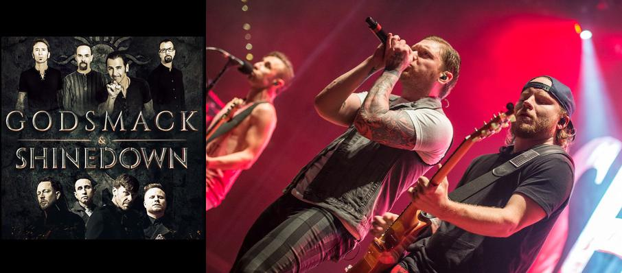 Shinedown and Godsmack at Toyota Pavilion