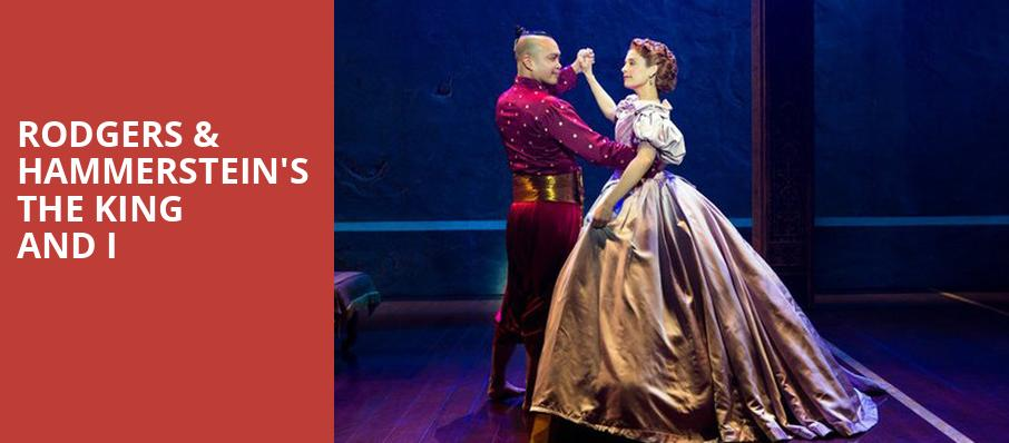 Rodgers Hammersteins The King and I, Harry and Jeanette Weinberg Theatre, Scranton