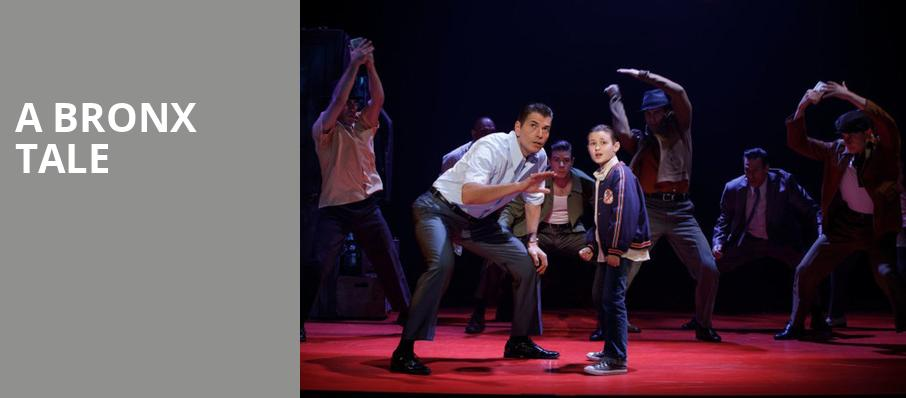 A Bronx Tale, Harry and Jeanette Weinberg Theatre, Scranton