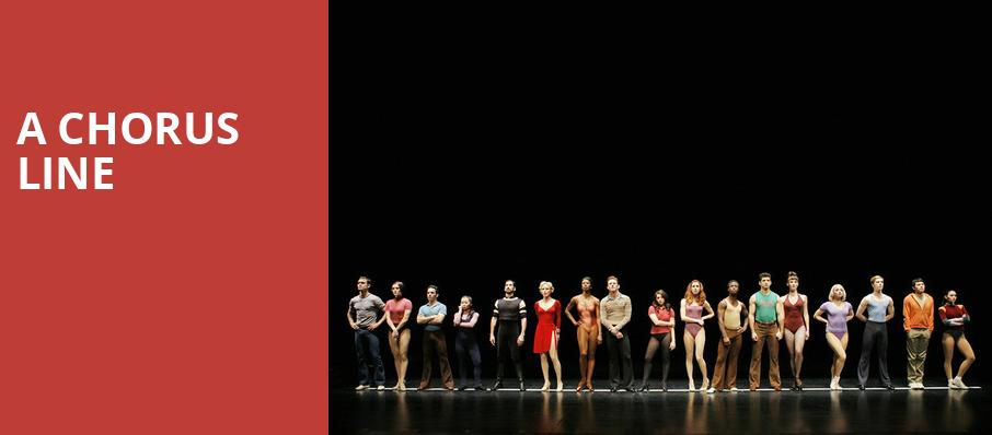 A Chorus Line, Harry and Jeanette Weinberg Theatre, Scranton