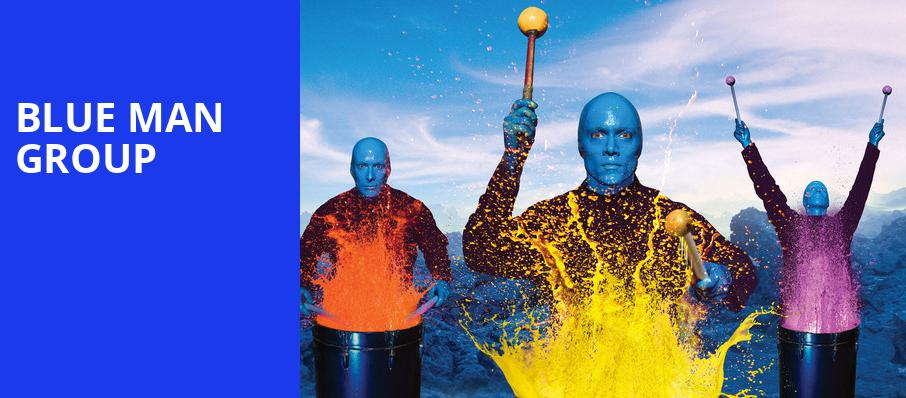 Blue Man Group, Harry and Jeanette Weinberg Theatre, Scranton