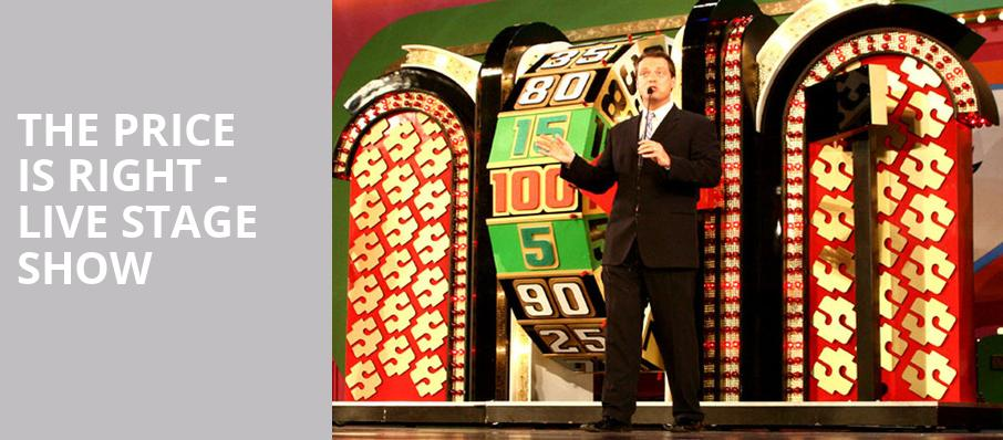 The Price Is Right Live Stage Show, Harry and Jeanette Weinberg Theatre, Scranton