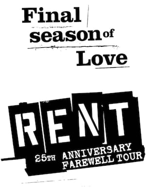 Rent, Harry and Jeanette Weinberg Theatre, Scranton